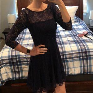 Beautiful purple lace dress